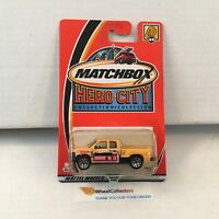 Chevrolet Silverado #49 * YELLOW * Matchbox Hero City * L15
