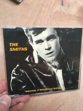 The Smiths-William It Was Really Nothing UK CD Single RTT 166CD Rough Trade Marr