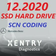 Mercedes Xentry Diagnostics SOFTWARE 12/2020 on SSD HD