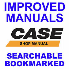 Case 580D 580CK D SD Tractor Loader Backhoe TLB Shop SERVICE IMPROVED MANUAL CD