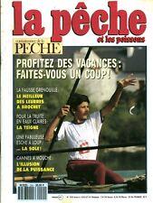 Revue  La pêche et les poissons No 554 Juillet 91
