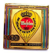 """WARSTEINER BALLON Pin / Pins - ALBUQUERQUE IBF 2000 """"OFFICIAL SPONSOR"""" [3164]"""