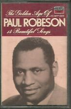 PAUL ROBSON ~ THE GOLDEN AGE OF ~ CASSETTE TAPES