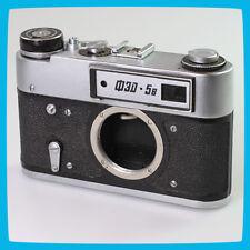 1982 old vintage FED 5B Soviet Russian CCCP USSR 35mm Film Rangefinder Camera