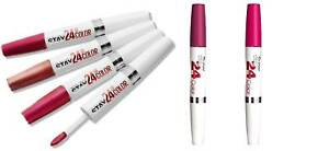 MAYBELLINE SUPERSTAY 24HR COLOR LIPSTICK - CHOOSE COLOUR FREE 1 LIPLINER **NEW**