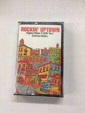 Cassette Rockin Uptown Compilation Sly Stone, Johnny Winter, Earth, Wind, Fire