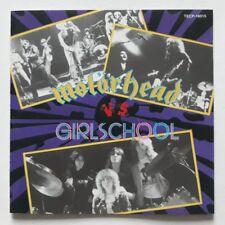 MOTORHEAD VS GIRLSCHOOL - JAPAN CD - TECP-18015 - 1989