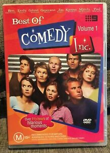 Best Of Comedy Inc DVD Volume 1 - Australian Sketch TV Series Show Rare AUST R4