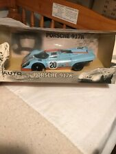 New Autoart 1/18 Steve McQueen Porsche 917k Movie Le Mans Model Car Rare Xmas