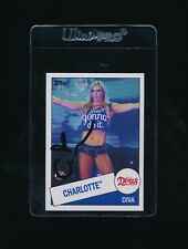 2015 Topps Heritage Charlotte Flair #104 rookie rc signed autograph cool sig