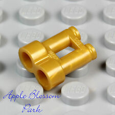 NEW Lego Minifig Pearl GOLD BINOCULARS City Tourist Minifigure Army Soldier Tool