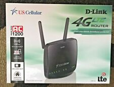 UNLOCKED US Cellular DWR-961 D-Link 4G LTE DUAL BAND WIRELESS ROUTER AC1200