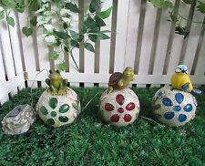 Gardenwize Rana De Luz Solar Led Decoración Pájaro Tortuga Animal Decoración De Jardín