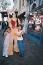 Goofy Girls FOUND PHOTOGRAPH Color FREE SHIPPING Original VINTAGE Disney  7711