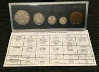 1998 CANADA 🇨🇦 Proof Sterling (.925) Silver Coin Set ( 1908 - 1998 Mints 90th)