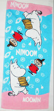 Moomin Cartoon Moomin & Little My 34 x 80 cm Daily Use Pink Color Cotton Towel