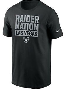 RAIDERS NATION Las Vegas Nike Shirt S - L **In Hand** Same Day Shipping
