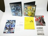 Persona 3 4 set lot PS2 Playstation2 Japan Atlus NTSC-J Free Shipping