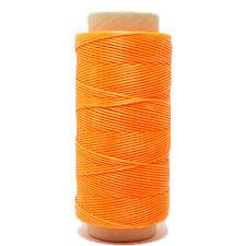 Hilo Encerado para Coser Cuero 260 m 1mm Guarnicionero Color Naranja 4357mclaro