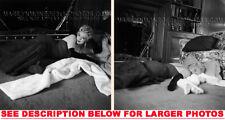 MARILYN MONROE EVENING DRESS on RUG 2xRARE 5X7 PHOTOS