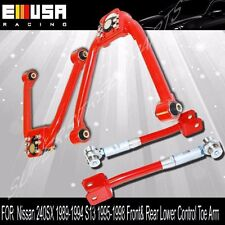For  2003-2009 NISSAN 350Z Front & Rear Camber Kit RED
