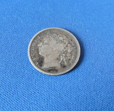 Straits Settlements - Silver Ten Cents - 1900 - Circulated-