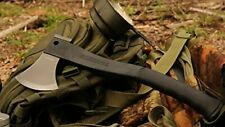 Schrade Scaxe2L Titanium Survival Hatchet Axe + Ferro Rod + Sharpener + Sheath