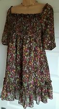 George Mini Floral Dresses for Women