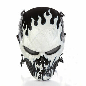 Outdoor Master Skull Skeleton Airsoft Paintball BB Gun CS Full Face Protect Mask