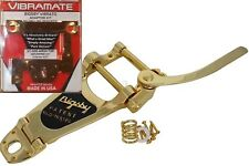 USA Gold Bigsby B7G & Vibramate V7335e Tremolo Fits Epiphone dot, es335 archtop