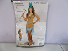 New Dream Girl Native Indian Princess Costume Adult Large