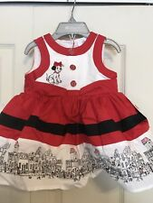 101 Dalmation Red/Black/White Dress for 3-6M // SOOO ADORABLE!!