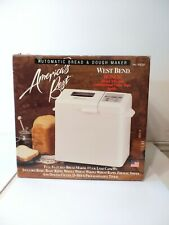 NEW West Bend Automatic Bread & Dough Maker 41030 Open Box 1-1 1/2 Lb Loaf USA