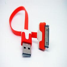 10 un. 20 cm trenzado Cable Cargador Sincronización USB Para iPhone 3GS 4 4S iPad iPod NARANJA