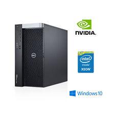 Estación de trabajo Dell T7600 - 2x E5-2687W 16C @ 3.1GHz, 128GB de RAM SSD Quadro K5000