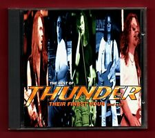 THUNDER - Their Finest Hour (And A Bit) (Best Of) (1995 16 trk CD album)