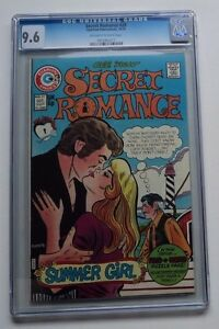 SECRET ROMANCE  # 29 CGC 9.6 NM+ Bronze Charlton Love Comic Book Capello HIGHEST
