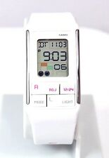 Casio LDF52-7A Ladies Pop Tone White Fashion Sports Watch Alarm Chronograph