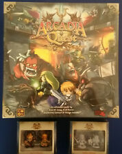 CMON Arcadia Quest Board Game plus Miniature Extras Painted! NEW!