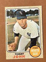 1968 Topps Tommy John Card #72 NM-MT Chicago White Sox