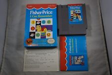 Fisher Price I Can Remember (Nintendo NES) Complete w/ Reg Card FAIR