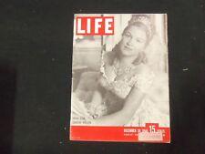 1946 DECEMBER 30 LIFE MAGAZINE - DOROTHY KRISTEN - L 529