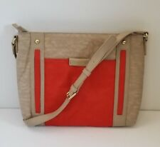 Kipling Abbey Crossbody Handbag Orange and Beige