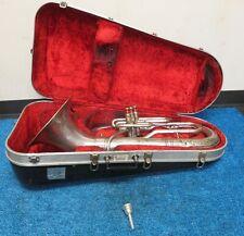 REYNOLDS CONTEMPORA 3 valve BARITONE HORN euphonium W/Case 921624