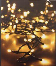 LED Lichterkette 240 LEDs innen Außen Weihnachten Beleuchtung Warmweiß Baum