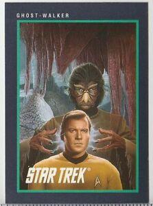 STAR TREK - GHOST-WALKER 1991 IMPEL TRADING CARD # 155