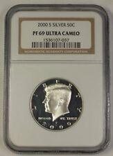 2000-S US Kennedy Silver Half Dollar 50c Coin NGC PR-69 UCAM Ultra Cameo