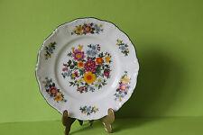 Seltmann Weiden Barock Wiesenblumen  Kuchenteller Teller 19 cm
