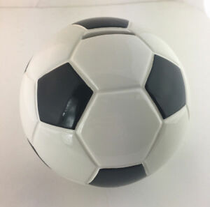 Large Ceramic Soccer Ball Bank (Piggy Bank)