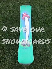 "Vintage ""A"" Snowboard David Vincent mushroom circa 1996 FREE SHIPPING"
